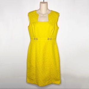 Tahari | Yellow Juliette Dress Arthur S. Levine